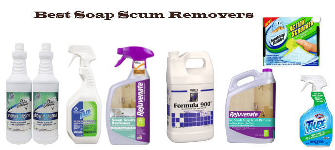 Best Soap Scum Removers